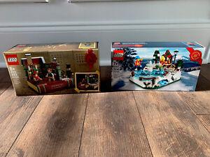 LEGO LIMITED EDITION No 40416 A CHRISTMAS CAROL No 40410 LOT X 2 NEW MISB 2020
