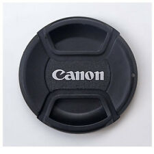 Center Pinch 62mm canon lens cap cover with cap holder and cleaning cloth 62