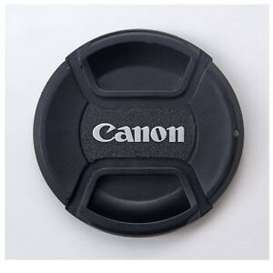 Center Pinch 52mm canon lens cap for EOS M 3 M3 18-55mm Lens With cap holder ++