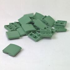 LEGO 100x NEW 4142717 Green Slope Roof Tiles Inverted 45 2 x 2