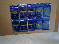 1995 WATERWORLD 10 Unopened Card Packs,fleer ultra,kevin costner,movie,**no box