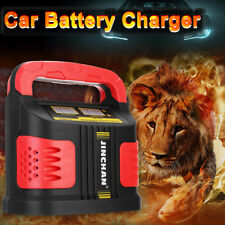 12/24V 14Amp Car Jump Starter Battery Start Chargeur Portable Auto Van 200000 mAh