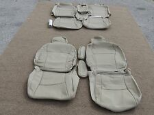 Leather Seat Covers Interior Upholstery fits Toyota Highlander 2008 2009 2010 Ta
