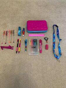 Smiggle stationery bundle with pencil case