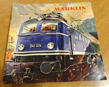 1960 catalogue MARKLIN