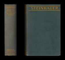Steinhauer THE KAISER'S MASTER SPY Espionage Britain Treason SECRET SERVICE Lody