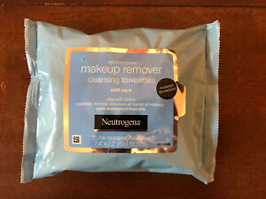 Neutrogena Makeup Remover Cleansing Towelettes 25 Pre-Moistened Ultra Soft