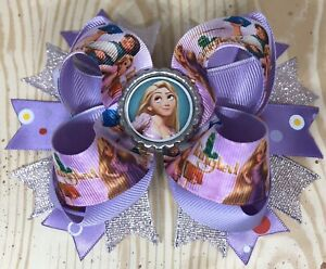 Tangled Hair Bow with Free Shipping