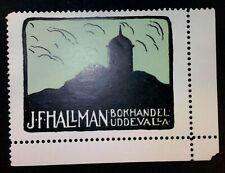 Cinderella Poster Stamp Sweden-Hallman Booksellers-Mnh Og - 20201907