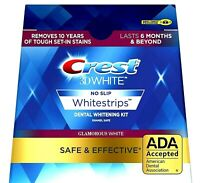 Crest 3D GLAMOROUS WHITE Whitestrips Teeth Dental Whitening Strips NEW No Box
