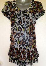 Chiffon Tie Neck Classic Tops & Shirts for Women