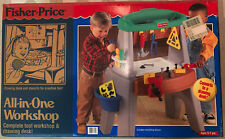 New ListingVintage Fisher Price New All-In-One Workshop In Sealed Box