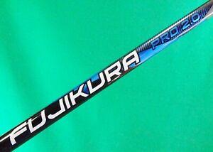 New Fujikura Pro 2.0 6-S STIFF driver shaft TaylorMade adapter tip high traj