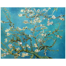 Van Gogh, Almond Blossom Deco FRIDGE MAGNET, 1890 Post Impressionism Art Repro