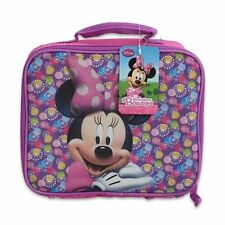 Lunch Bag Insulated Snack Tote Disney Minnie Mouse Bow-tique NWT