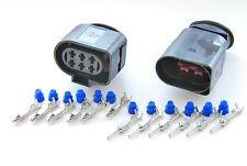 AUDI VW SKODA 6 Polig STECKER Connector Satz 1J0973833 und 1J0973733