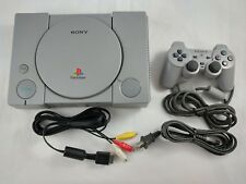 Fat PS1 Playstation 1 Console [w/ MM3 Mod, Controller & Cables] Sony Official