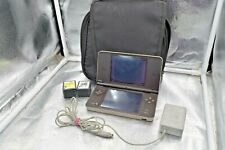 NINTENDO DSi XL BLUE SYSTEM UTL-001 with case and 13 games