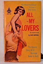 All My Lovers Alan Marshall (Donald Westlake) Midwood 1st edition paperback 1961