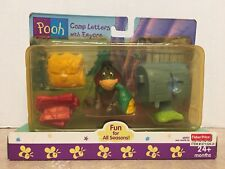 Fisher Price Fun for all Seasons Camp Letters with Eeyore New in Box!