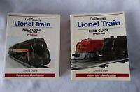 Warman's Lionel Train Field Guide set of 2, 1945 - 1969  by David Doyle