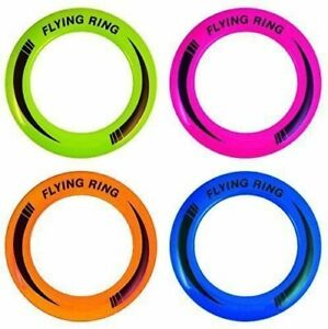 "10"" Neon Flying Ring Disc Frisbee Flyer Adult Kids Family Outdoor Play Toy"