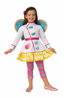 Deluxe Butterbean Child Girls Toddler Costume NEW Butterbean's Cafe