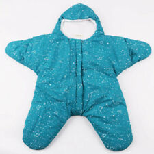 Baby Starfish Sleeping Bag Newborn Winter Warm Outdoors Windproof Clothes Light Blue