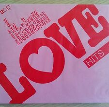 NEW SEALED - LOVE HITS - Pop Music 2x CD Album - East 17 Corrs Cars All Saints
