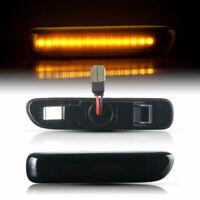 LED SEITENBLINKER für BMW 3er | E46 | Cabrio | Coupe | BJ 1999 - 2003 | SCHWARZ