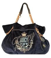 NWT Juicy Couture Duchess Love Your Couture Blue Shoulder Bag, Hobo Handbag $228