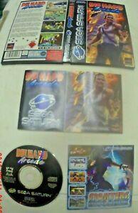 DIE HARD ARCADE - SEGA SATURN GAME - COMPLETE - PAL - Retro Rare collectors game