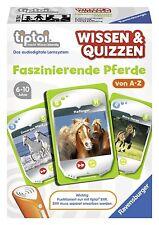 Ravensburger 00754 Tiptoi Wissen und Quizzen - Faszinierende Pferde NEU OVP /