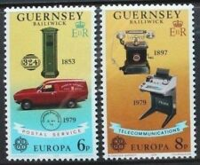 GUERNSEY 1979 Europa Communications. Set of 2. Mint Never Hinged. SG201/202.