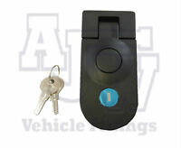 4 Compression Latch Lock LARGE NON LOCKING Horsebox Locker Doors Tack Box C5
