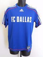 NEW MLS FC Dallas Adult Mens Sizes S-M-L-XL-2XL Adidas CLIMALITE JERSEY