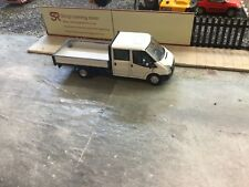 Oxford Diecast 1:76 Ford Transit   Dropside  plain white code3