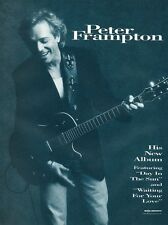 1994 Vintage 8X11 Print Ad for Peter Frampton's Self Titled Lp