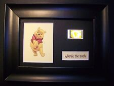 WINNIE THE POOH Framed Movie Film Cell Memorabilia - Compliments poster dvd book