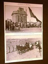 Spedizione dell'Italia in Libia nel 1911 Bandiera Tripoli Borea Ricci Cirenaica
