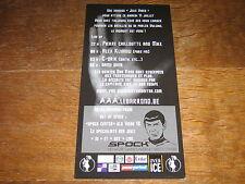 star TREK SPOCK CARTE PUBLICITAIRE BAR ROND SPOCK