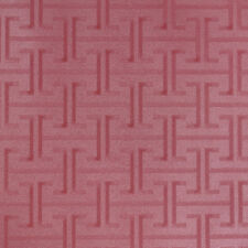 Textured washable red leather vinyl wallpaper 10m Roll