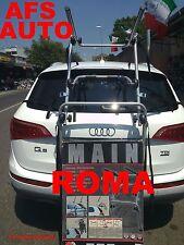 PORTABICI POSTERIORE 3 BICI X AUDI Q5 ANNO 2009 X BICI UOMO DONNA  MADE IN ITALY