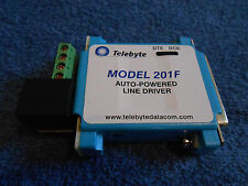 TELEBYTE 201F AUTO POWERED LINE DRIVER (USED)***