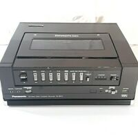 Vintage Panasonic Omnivision II VHS NV-8410 Portable Video Cassette Recorder
