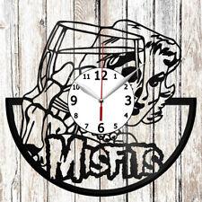 Misfits Vinyl Record Wall Clock Handmade Decor Original Gift 4715