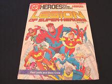 DC HEROES LEGION OF SUPER-HEROES MAYFAIR GAMES RPG VOLUME 1