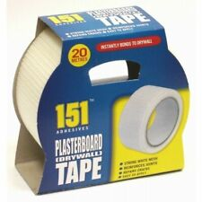 Adhesive Plasterboard Tape Strong White Mesh Reinforces Joints Repairs Cracks UK