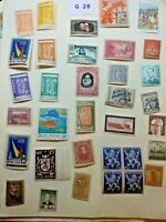 Mint worldwide stamps Lot # G 28 Panama, Russia, Mexico etc unchecked for value