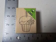 HERO ARTS #F5495 CUPCAKE WOOD MOUNTED RUBBER STAMPS NEW A1730